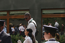 July 13, 2019 - London, England - LONDON, ENGLAND - JULY 13:  Chris Bosh  attend the Women's Singles Final of the Wimbledon Tennis Championships at All England Lawn Tennis and Croquet Club on July 13, 2019 in London, England...People:  Chris Bosh. (Credit Image: © SMG via ZUMA Wire)
