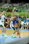 DESCRIZIONE : Lubiana Ljubliana Slovenia Eurobasket Men 2013 Second Round Lituania Francia Lithuania France<br /> GIOCATORE : Tony Parker<br /> CATEGORIA : palleggio dribble<br /> SQUADRA : Francia France<br /> EVENTO : Eurobasket Men 2013<br /> GARA : Lituania Francia Lithuania France<br /> DATA : 11/09/2013 <br /> SPORT : Pallacanestro <br /> AUTORE : Agenzia Ciamillo-Castoria/H.Bellenger<br /> Galleria : Eurobasket Men 2013<br /> Fotonotizia : Lubiana Ljubliana Slovenia Eurobasket Men 2013 Second Round Lituania Francia Lithuania France<br /> Predefinita :