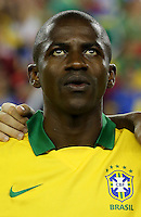 Football Fifa Brazil 2014 World Cup Matchs-Friendly / <br /> Brazil vs  Portugal 3-1  ( Gillette Stadium - Boston , Usa )<br /> RAMIRES Santos of Brazil , during the Friendly match between Brazil and Portugal