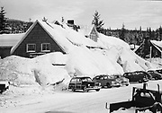 """Ackroyd 01188-3. """"Mountain View Inn at Government Camp. December 24, 1948"""""""