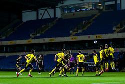 Luke Leahy of Bristol Rovers shoots at goal from a free kick - Mandatory by-line: Robbie Stephenson/JMP - 06/10/2020 - FOOTBALL - Kassam Stadium - Oxford, England - Oxford United v Bristol Rovers - Leasing.com Trophy