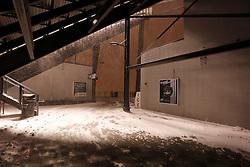 Snow falls on Lincoln Financial Field in Philadelphia, Pennsylvania on Sunday December 26th 2010. (Photo By Brian Garfinkel)