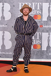 February 20, 2019 - London, United Kingdom of Great Britain and Northern Ireland - Leigh Francis arriving at The BRIT Awards 2019 at The O2 Arena on February 20, 2019 in London, England  (Credit Image: © Famous/Ace Pictures via ZUMA Press)