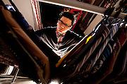 Belo Horizonte_MG, Brasil...Frequentador assiduo de brechos em Belo Horizonte...The frequent visitor to the second-hand store in Belo Horizonte...Foto: LEO DRUMOND / NITRO