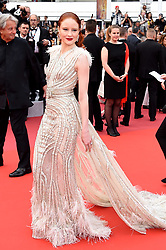 May 14, 2019 - Cannes, France: Model BARBARA MEIER arrives on the red carpet for 'The Dead Don't Die' Premiere during opening night of the 72nd Cannes Film Festival. (Credit Image: © Alberto Terenghi/IPA via ZUMA Press)