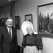 NLD/Huizen/19920303 - Opening expositie Ds. de Bie in het VoorAnker Huizen