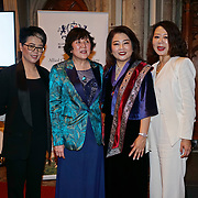 London,England,UK. 31th March 2017: Jin Shu Hui,Huilin Proctor,Jin Shu Li  and Lui Jing attends the Athene Festival 2017 at Guildhall,London,UK. by See Li