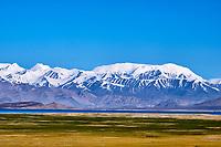 Tadjikistan, Asie centrale, Gorno Badakhshan, Haut Badakhshan, le Pamir, la Route du Pamir, le lac Karakoul et la chaine Alai // Tajikistan, Central Asia, Gorno Badakhshan, the Pamir, Wakhan valley, the Pamir highway, Karakul lake and Alai Range