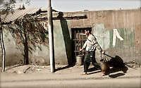 According to one source, Egypt has reached the Millennium Development Goal of halving the number of people without proper access to save water and sanitation by 2015 ahead of time in 2008. Egypt is still off track to achieve sanitation targets in many areas, including City of the Dead, where this image was taken. Over 17,000 preventable deaths occur for Egypt's children as a result.  Egypt's main source of freshwater is the Nile River, is classified a water scarce country. Indicators of water stress are projected to double by 2050.