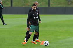 March 20, 2018 - Na - Oeiras, 03/20/2018 - The National Team AA trained this morning with a view to preparing for the 2018 World Cup in the City of Soccer in Oeiras. Bruno Fernandes  (Credit Image: © Atlantico Press via ZUMA Wire)
