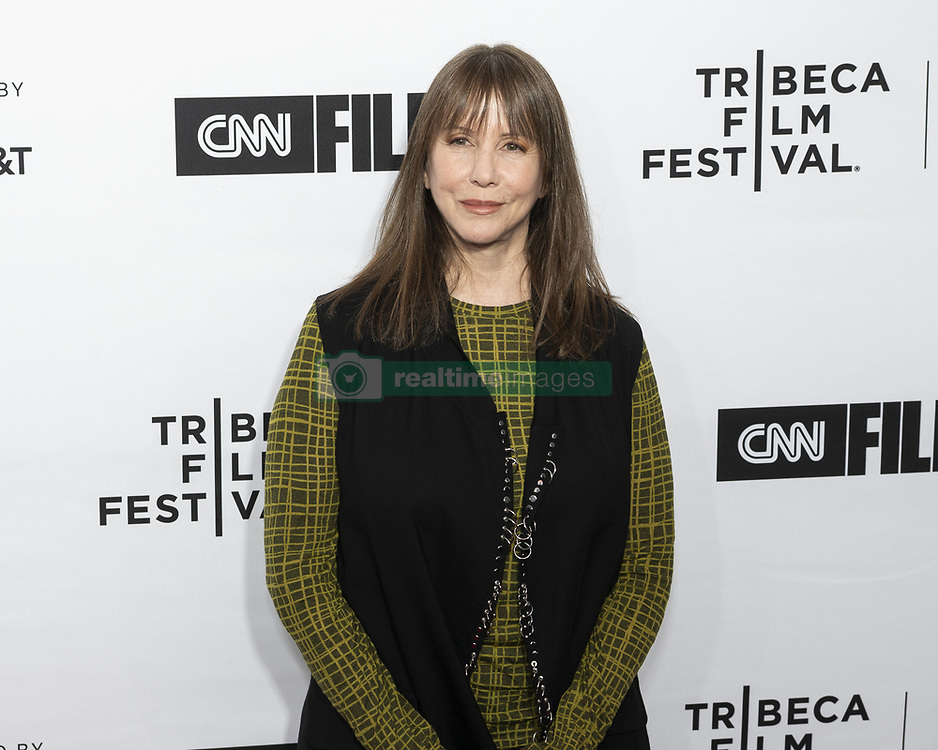 April 18, 2018 - New York, NY, U.S - LARAINE NEWMAN at the Tribeca Film Festival red carpet arrivals for the film ''Love, Gilda'' at the Beacon Theatre in New York City on April 18, 2018 (Credit Image: © Michael Brochstein via ZUMA Wire)