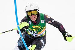January 7, 2018 - Kranjska Gora, Gorenjska, Slovenia - Nevena Ignjatovic of Serbia competes on course during the Slalom race at the 54th Golden Fox FIS World Cup in Kranjska Gora, Slovenia on January 7, 2018. (Credit Image: © Rok Rakun/Pacific Press via ZUMA Wire)
