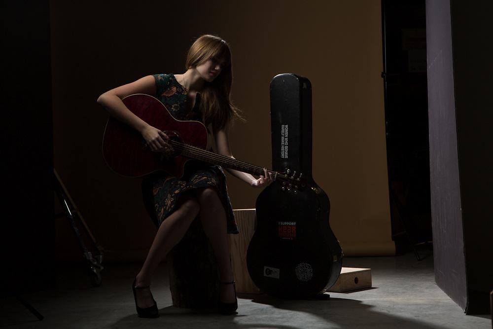 05 December 2014- Kelli Schilken is photographed at Omaha Publications for Omaha Magazine.