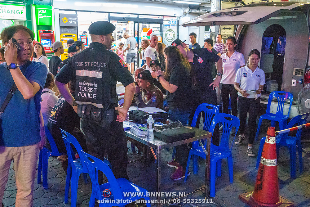 NLD/Pattaya/20180713 - Vakantie Thailand 2018, toeristenpolitie