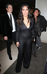 BEVERLY HILLS, CA - JANUARY 7: Salma Hayek, at 75th Annual Golden Globe Awards_Roaming at The Beverly Hilton Hotel in Beverly Hills, California on January 7, 2018. CAP/MPIFS ©MPIFS/Capital Pictures. 08 Jan 2018 Pictured: Salma Hayek. Photo credit: MPIFS/Capital Pictures / MEGA TheMegaAgency.com +1 888 505 6342