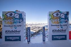22.01.2019, Streif, Kitzbühel, AUT, FIS Weltcup Ski Alpin, Abfahrt, Herren, 1. Training, im Bild Übersicht aus dem Stathausder Streif // Overview at the Starthouse of the Streif during the 1st Training of mens downhill of FIS Ski Alpine Worldcup at the Streif in Kitzbühel, Austria on 2019/01/22. EXPA Pictures © 2019, PhotoCredit: EXPA/ Johann Groder