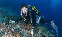 Dr. Sylvia Earle diving