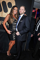 TAMARA ECCLESTONE and ? at the Warner Music Group Post Brit Awards Party in Association with Samsung held at The Savoy, London on 20th February 2013.