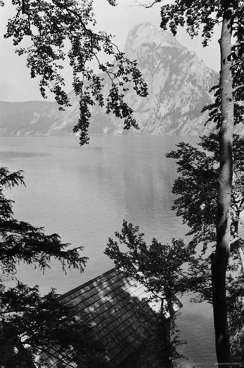 Traunkirchen Mountain, Traunsee, Traunkirchen, Austria, 1938