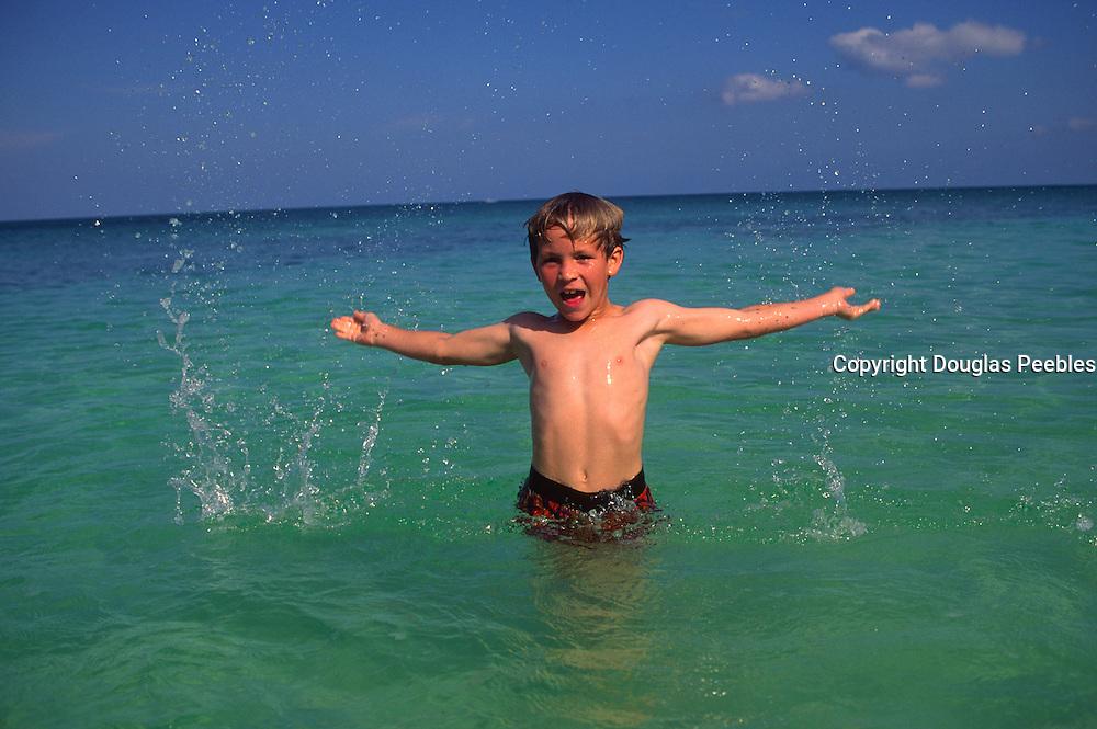 Boy in water<br />