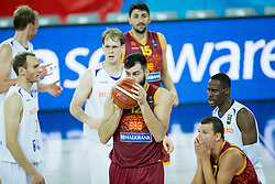 during basketball match between Netherlands and Macedonia at Day 2 in Group C of FIBA Europe Eurobasket 2015, on September 6, 2015, in Arena Zagreb, Croatia. Photo by Vid Ponikvar / Sportida