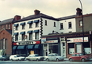 Old Dublin Amature Photos February 1984 WITH, Sutton Signal Box, The Crescent, No 18 Bram Stoker House, Georges Avenu, Crowleys, McKennas, Gallaghers Shop Fairview, McGraths Pub, Drumcondra, Broadstone, McGovern's Pub, Old amateur photos of Dublin streets churches, cars, lanes, roads, shops schools, hospitals