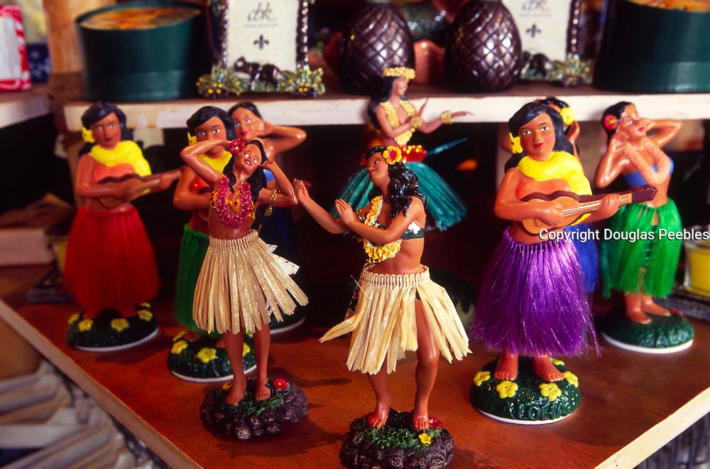 Hula dolls, Hawaii<br />