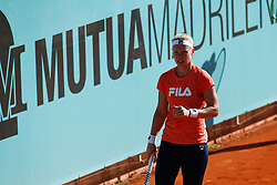 May 3, 2019 - Madrid, MADRID, SPAIN - Kiki Bertens of Netherlands during the Mutua Madrid Open 2019 (ATP Masters 1000 and WTA Premier) tenis tournament at Caja Magica in Madrid, Spain, on April 28, 2019. (Credit Image: © AFP7 via ZUMA Wire)