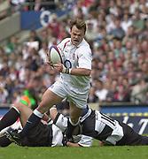 Twickenham. England. RFU Stadium, Surrey. <br /> Photo Peter Spurrier25/05/2003<br /> 2003 - Rugby - England v Barbarians.<br /> Phil Christophers         [Mandatory Credit: Peter SPURRIER/Intersport Images]