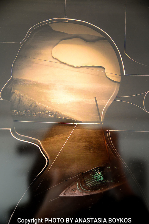 Anastasia's psychogram V<br /> <br /> Waiting for my boat<br /> <br /> Art work by Agelos Antonopoulos.<br /> <br /> 21/12/2013