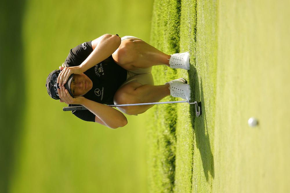 Annika Sorenstam<br />2005 U.S. Women's Open Championship<br />First Round<br />Cherry Hills CC<br />Cherry Hills Village, CO<br />Thursday, June 23 2005<br />photograph by Darren Carroll