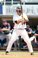 03 June 2016: Millersville's Dan Stoltzfus. The Nova Southeastern University Sharks played the Millersville University Marauders in Game 13 of the 2016 NCAA Division II College World Series  at Coleman Field at the USA Baseball National Training Complex in Cary, North Carolina. Nova Southeastern won the first game of the best of three Championship Series 2-1.