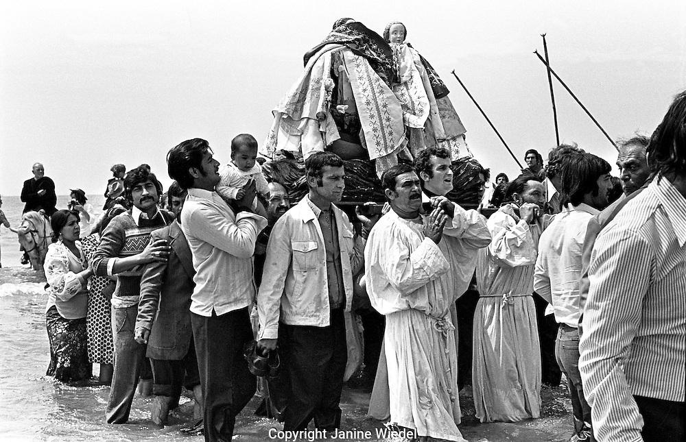 Annual Gypsy festival & gathering of Sainte Maries de la Mer in the Camargue