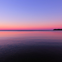 """""""Sunset Swim"""" 2<br /> <br /> Beautifully hued sunset on Lake Superior!!<br /> <br /> Sunset Images by Rachel Cohen"""