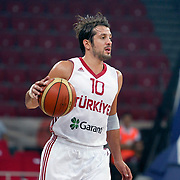 Turkey's Kerem TUNCERI during their Istanbul CUP 2011match played Turkey between New Zeland at Abdi Ipekci Arena in Istanbul, Turkey on 24 August 2011. Photo by TURKPIX