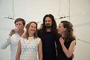 STUDIO DRIFT; LUCAS VAN OOTRAM; LOMELIE GORATYN, RALPH NANTA; MARIA VERA VAN EMBDEN ANDRES, Mollie Dent-Brocklehurst and Mark Davy host an evening in celebration of Future/Pace. London SW6, May 22 2018