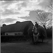 1957 Horse and Cart