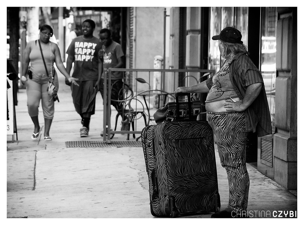 The Streets of Los Angeles: People in Downtown