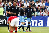 Fotball 26. mai 2012 , privatkamp ,  Norge - England<br /> Norway - 0-1<br /> Ashley Young (10), England , Joleon Lescott (6) , Andy Carroll (9) , England