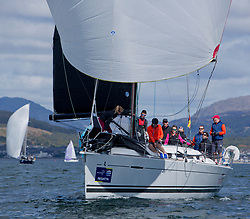 Pelle P Kip Regatta 2019 Day 1<br /> <br /> Light and bright conditions for the opening racing on the Clyde keelboat season<br /> FRA37296, Triple Elf, Christine Murray, CCC/Fairlie YC, Beneteau First 35