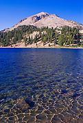 Lake Helen under Lassen Peak, Lassen Volcanic National Park, California