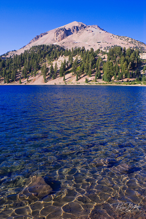 Lake Helen under Lassen Peak, Lassen Volcanic National Park, California