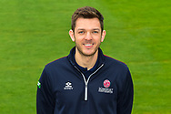 Andrew Griffiths head shot at Somerset County Cricket Club at the Cooper Associates County Ground, Taunton, United Kingdom on 11 April 2018. Picture by Graham Hunt.