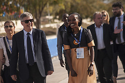 November 12, 2016 - Marathonas, Greece - Jemima Sumgong Kenyan gold Medalist at the 2016 Rio Olympics at Marathon. Ceremony in the Greek city of Marathonas as part of the 35 Athens Marathon the Authentic. (Credit Image: © George Panagakis/Pacific Press via ZUMA Wire)
