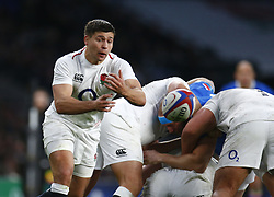March 9, 2019 - London, England, United Kingdom - London, ENGLAND, 9th March .Ben Youngs of England.during the Guinness 6 Nations Rugby match between England and Italy at Twickenham  stadium in Twickenham  England on 9th March 2019. (Credit Image: © Action Foto Sport/NurPhoto via ZUMA Press)