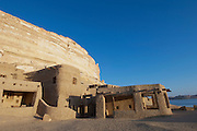 A hotel at the Siwa Oasis in the Matruh Governorate, Egypt