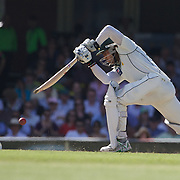 Umar Akmal batting during the Australia V Pakistan 2nd Cricket Test match at the Sydney Cricket Ground, Sydney, Australia, 6 January 2010. Photo Tim Clayton