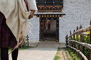 Entry to Punakha Dzong & Bridge, Punakha, Bhutan