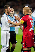 Sergio Ramos in start kick