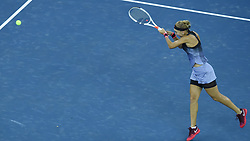 WUHAN, Sept. 24, 2017 Elena Vesnina of Russia returns the ball during the singles' first round match against Duan Yingying of China at 2017 WTA Wuhan Open in Wuhan, capital of central China's Hubei Province, on Sept. 24, 2017. Elena Vesnina won 2-0.  wll) (Credit Image: © Ou Dongqu/Xinhua via ZUMA Wire)